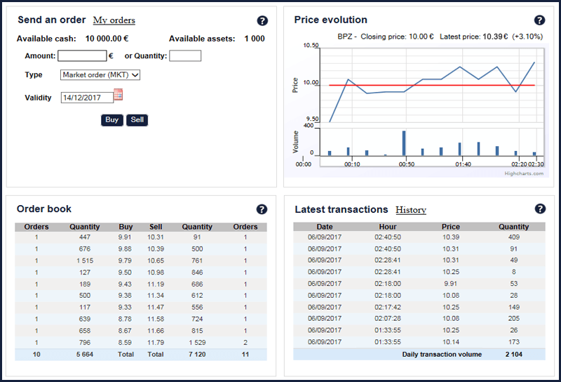 SimTrade trading simulation